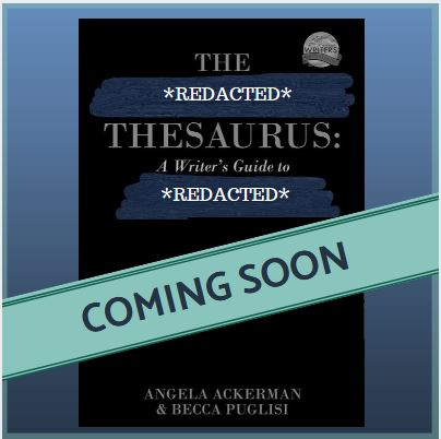 REDACTED The Emotion Thesaurus cover